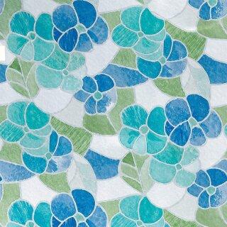 d-c-fix Transparent Lisboa Blau 2m x 45cm