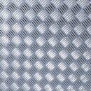 d-c-fix Riffelblech Hochglanz Silber 1,5m x 90cm